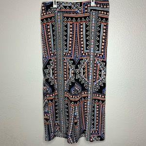 Mossimo Bohemian Hippie Trousers Palazzo Pants XXL